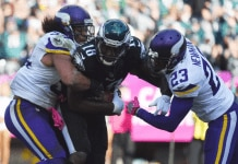 Dorial Green beckham tackled against vikings