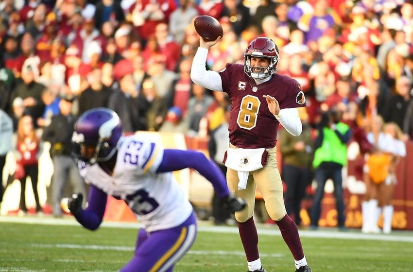 Ill be the one to say it the vikings need to go all in on kirk redskins qb kirk cousins completing a aloadofball Image collections