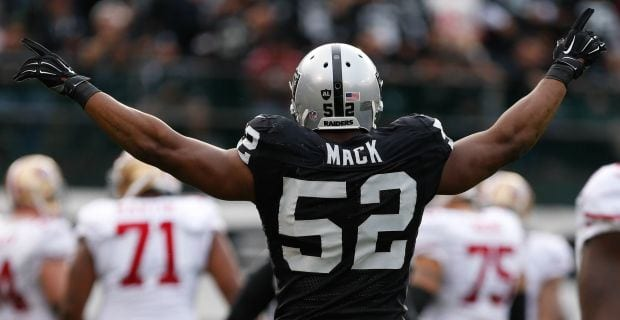 Bears to acquire Raiders pass rusher Khalil Mack