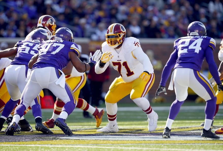 Trent Williams against Everson Griffen