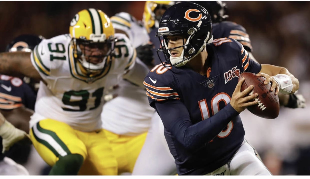 Lazerus: Will maddening Mitch Trubisky ever make the leap?