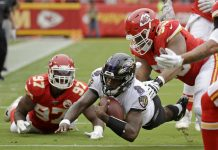 Baltimore Ravens vs Kansas City Chiefs NFL
