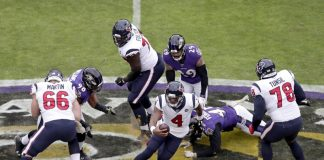 Baltimore Ravens Houston Texans NFL