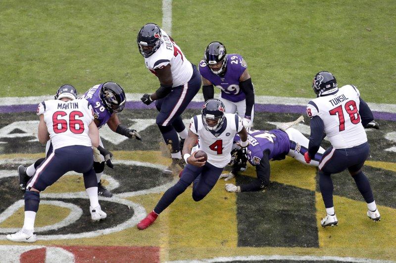 Baltimore Ravens Houston Texans NFL
