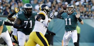 Philadelphia Eagles Pittsburgh Steelers NFL