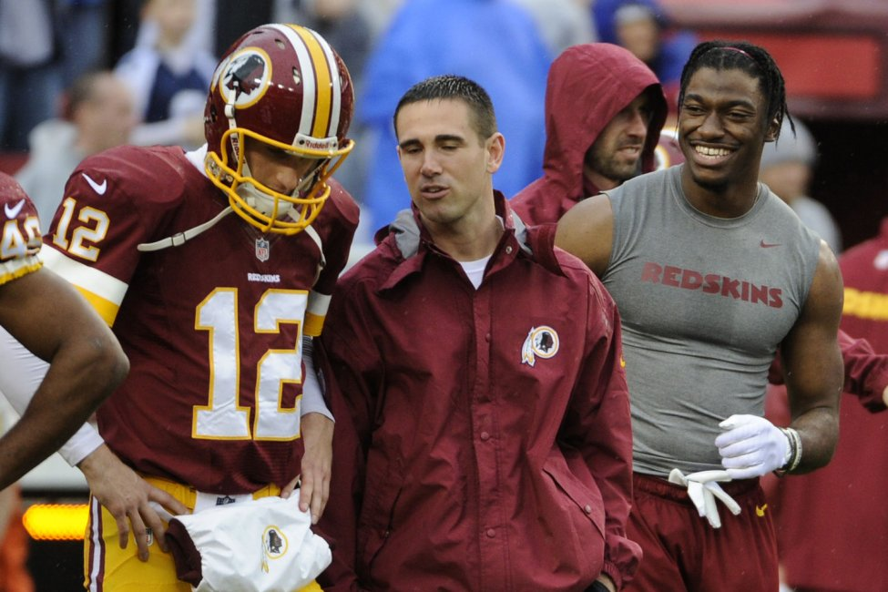 Kirk Couins and Kyle Shanahan